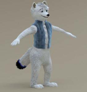 Arctic Foxy_WIP