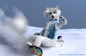 JF ChillFox snowboarding